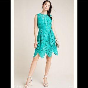 NWT Anthropology Toulouse Lace Mini Dress